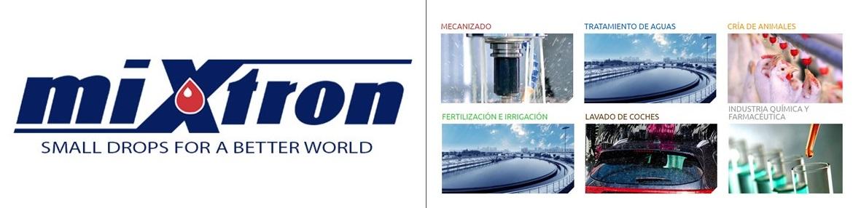 MIXTRON - Aplicaciones del dosificador hidráulico de Mixtron