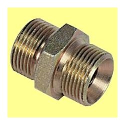"Racord 1/4"" x 1/4"" G enganches M/M"