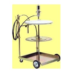Mobile kit for dispensing grease for drums of 180/220 kg with outside Ø from 550 to 600 mm
