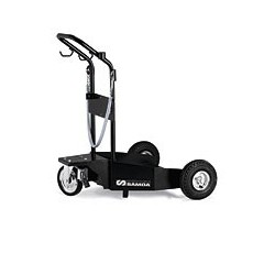 Carro para bidón con ruedas neumáticas - 205 l