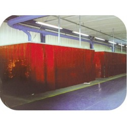 WELDING Curtain - Standard RED