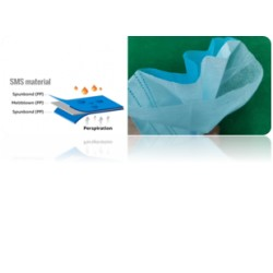 Disposable mask, 3 layers, type FFP1