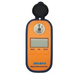 Refractómetro manual digital,  0 - 70º