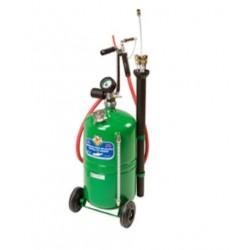 Aspirador de aceite usado, depósito con carro 24 litros