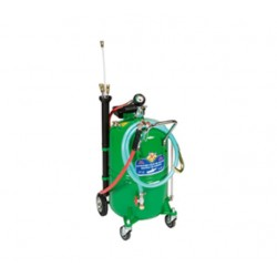 Aspirador de aceite usado con depósito con carro de 65 litros