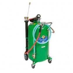 Aspirador de aceite usado con depósito con carro de 90 litros