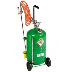 Pulverizador con carro con depósito de 24 litros