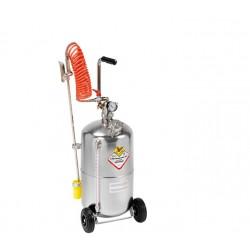 Pulverizador INOX, depósito carro 24 litros