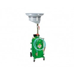 Recuperador aceite usado con depósito con carro de 65 l.