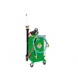 Aspirador de aceite neumático con carro con depósito de 90 l