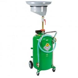Recuperador aceite usado con depósito con carro de 90 l.