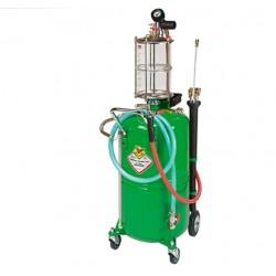 Aspirador de aceite neumático, 65 litros
