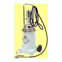 Air-operated grease pump