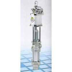 Pneumatic industrial pump, 3:1, 100 l/min