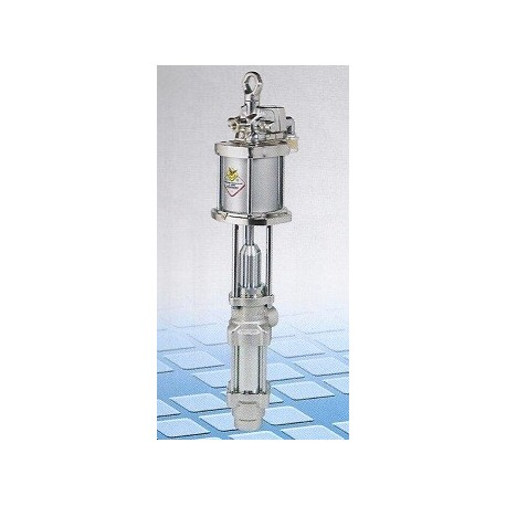 Pneumatic industrial pump, 4:1, 110 l/min