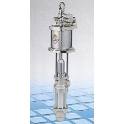 Pneumatic industrial pump, 8:1, 65 l/min