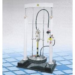 Kit elevator and press fluids, 18:1, 23 l/min